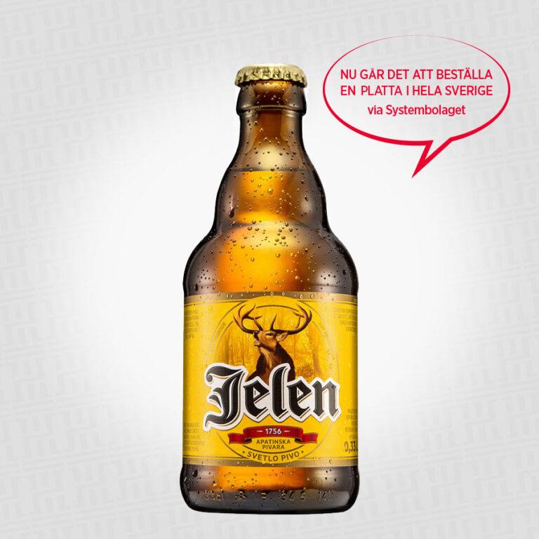 Jelen Öl 330 ml – 17:90 kr